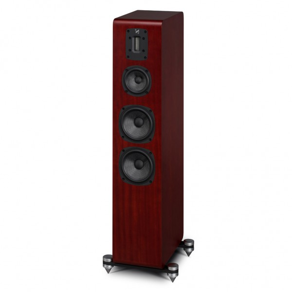 paar standlautsprecher quad s 4 sapele mahagoni lautsprecher speakers garantie ebay. Black Bedroom Furniture Sets. Home Design Ideas